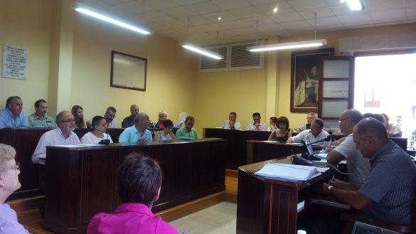 Momentos previos a la votación de la Comisión Especial de Cuentas