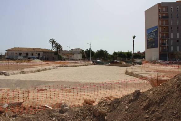 Para Verdú, enterrar las tumbas en arena es sinónimo de potenciar el turismo cultural y preservar nuestro patrimonio arqueológico.