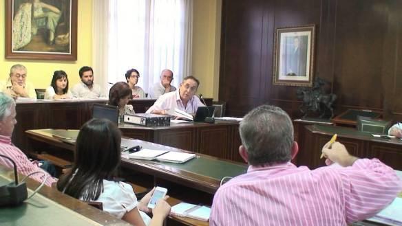 Imagen de uno de los plenos de la legislatura pasada