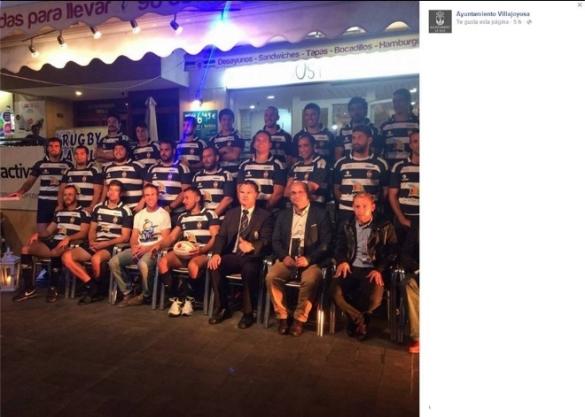 Fotografía rugby manipulada