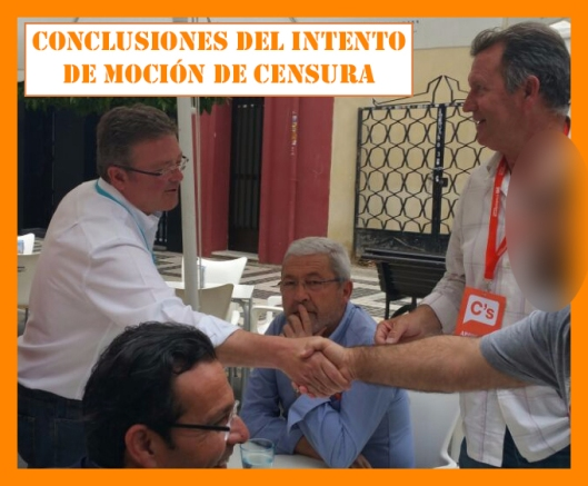Conclusión del intento moción censura