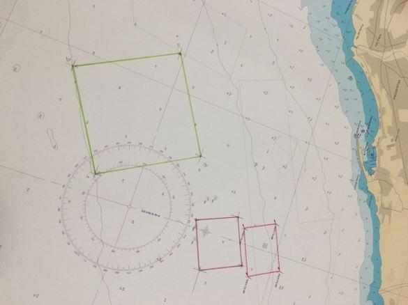 Plano de la actual piscifactoria y ampliación y la nueva macro piscifactoria